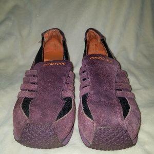 Purple Suede Rocketdogs